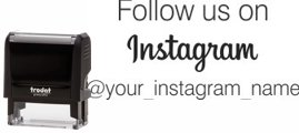 SOCIALMEDIA3 - Follow us with Instagram Logo 4913