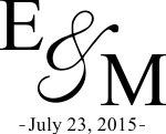 EMBOSS3 - Wedding Initials Embosser