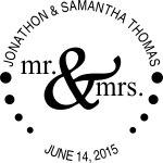 EMBOSS1 - Mr & Mrs Embosser